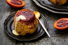 Steamed tamarillo and ginger puddings – Recipes – Bite