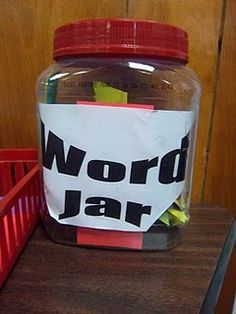Vocabulary Idea related to the book Donovan's Word Jar