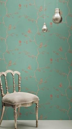 Serene and beautiful wallpaper... I thought my wallpapering days were over, but this makes me re-think that...
