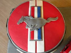 Ford Mustang birthday cake — Birthday Cakes