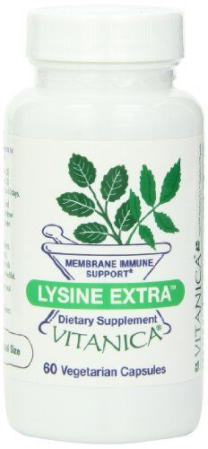"""Utilizing clinical data, botanical research and nutritional research studies, this formula has been developed for its viral-specific immune system support and membrane support       Famous Words of Inspiration...""""To  I'm an atheist; to God, I'm the Loyal... more details at http://supplements.occupationalhealthandsafetyprofessionals.com/supplements-2/amino-acid/l-lysine/product-review-for-vitanica-lysine-extra-capsules-60-count/"""