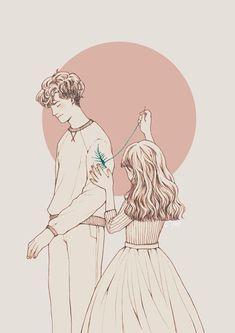 Ilustrações Claras e Delicadas de Cynthia Tedy - Sweet Magic