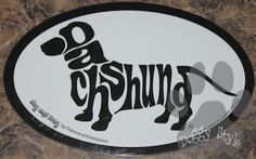 Euro Style Dachshund Dog Breed Magnet http://doggystylegifts.com/products/euro-style-dachshund-dog-breed-magnet