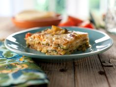 Zucchini-Tortilla Casserole (Pastel Azteca) recipe from Marcela Valladolid via Food Network