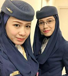 Saudi Airline | Stewardess | Malaysian | Pretty | Lovely | Uniform