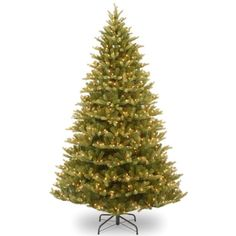 National Tree PENM131075 FeelReal Normandy Fir Hinged Tree with 1000 Clear Lights 75Feet ** Read more reviews of the product by visiting the link on the image.