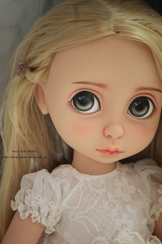 OOAK Disney Animator Collection Rapunzel repaint by Joo