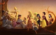 """Disney's """"Princess Academy"""": An Amazing Animated Short That Never Was  dir1.2y"""