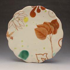 A plate a day.Artist: Elizabeth Robinson / Source: Plinth