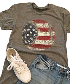 vintage flag baseball shirt This t-shirt is Made To Order, one by one printed so we can control the quality. Baseball Mom Shirts, Sports Shirts, Softball Mom, Baseball Clothes, Baseball Picks, Baseball Videos, Baseball Girlfriend, Baseball Crafts, Softball Quotes
