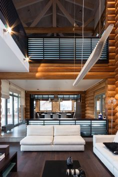 Деревянный жилой дом в Подмосковье