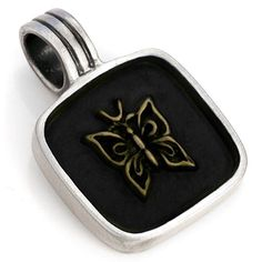 Purple Leopard Boutique - BICO Pacific Australia Jewelry PAPILLION Butterfly Pewter Pendant B15 Black  , $20.00 (http://www.purpleleopardboutique.com/bico-pacific-australia-jewelry-papillion-butterfly-pewter-pendant-b15-black/)