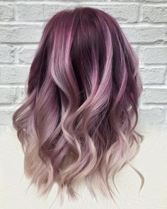37 Hottest Ombré Hair Color Ideas of 2019 Best Picture For 2020 hair trends for women For Your Taste Pastel Purple Hair, Hair Color Purple, Blonde Color, Cool Hair Color, Purple Ombre, Spring Hair Colour, Blonde Hair With Purple Highlights, Funky Hair Colors, Violet Hair Colors