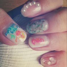 #ネイル #ネイルアート  #セルフネイル  #セルフネイル部  #nail #nails #nailart #nailstagram #naildesign   #beautiful  #fashion  #art #mermaid ####