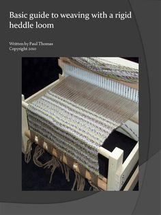 Tissage de 28 pages de guide  métier de l'heddle par Planengrain