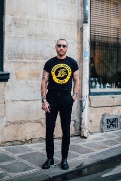 best-streetstyle: Justin O'Shea - Paris | Vogue France
