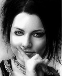 Amy_lee_by_tunaferit_by_Tuna Ferit Hidayetoğlu - 30 Outstanding Photos of Drawings | Art and Design
