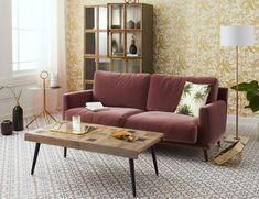EMILIE velvet sofa