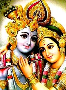 Lord Krishna and love for radha