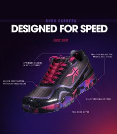 Attention Runners: Get Optimal Speed With Our Best Selling CARRERA Shoes. High Performance Running Shoes Designed For Optimal Speed and Comfort. www.kurufootwear.com
