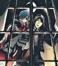 Ciel Phantomhive & Sebastian Michaelis (Kuroshitsuji/Black Butler)