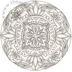 Mandala (मण्डल) é a palavra sânscrita que significa círculo, uma representação geométrica da dinâmica relação entre o homem e o cosmo . ...