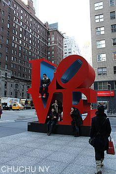 56 street love sign