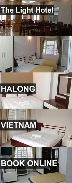 The Light Hotel in Halong, Vietnam. For more information, photos, reviews and best prices please follow the link. #Vietnam #Halong #travel #vacation #hotel