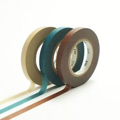 Washi tape slim set F Masking Tape, Washi Tape, Rice Paper, Craft Party, Gifts, Slim, Colors, Duck Tape, Duct Tape