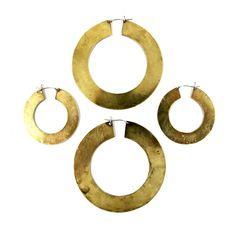 Ghanima Hoops \ Laurel Hill Jewelry