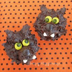 Hungry Happenings: Decorate store bought snack cakes to look like Werewolves for Halloween