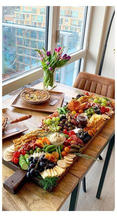 Gourmet Recipes, Appetizer Recipes, Appetizers, Cooking Recipes, Healthy Recipes, Healthy Meals, Charcuterie And Cheese Board, Charcuterie Platter, Crudite Platter Ideas
