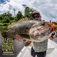 The return to Papua New Guinea not only had big threats, but even bigger rewards! Watch the latest #GEOBASS episode at bit.ly/geobasspng2
