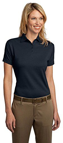 2efe05d8 Port Authority Ladies Pima Select Polo with PimaCool Technology Navy  XXXLarge * Read more at the image link.