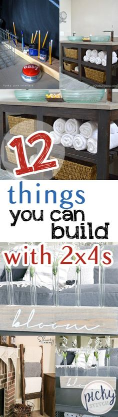 12 Things You Can Build With 2x4s