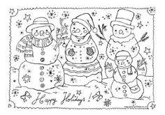 39 Beste Afbeeldingen Van Kleurplaten Kerstmis Coloring Pages