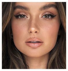 Natural Makeup For Blondes, Natural Makeup For Brown Eyes, Wedding Makeup For Brown Eyes, Makeup Looks For Brown Eyes, Simple Makeup Looks, Wedding Day Makeup, Bridal Makeup Looks, Natural Makeup Looks, Natural Make Up Wedding