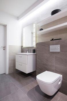 Our references - Badsanierung 2345 Mödling - Bad - Best Bathroom Vanities, Bathroom Bath, Bathroom Inspo, White Bathroom, Bathroom Inspiration, Small Bathroom, Master Bathroom, Scandinavian Style Home, Scandinavian Design