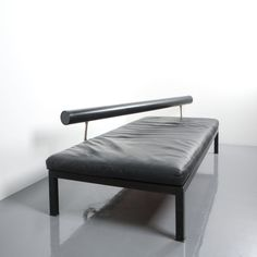 Antonio Citterio for B&B Italy Elegant Leather Daybed Sity, Italy, 1980