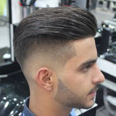 cool 30 Imaginative Medium Fade Haircuts - Classic and Trendy Styles for Men Check more at http://stylemann.com/best-medium-fade-haircuts/