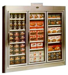 Deli Case, GDL Series, Remote, Swing Door, Reach-In Freezers    Features @ http://www.marcrefrigeration.com/gdl.php