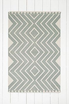 Diamante 4x6 Rug in Green