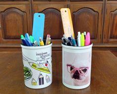 Lançamento de Porta Caneta/Lápis de cerâmica! Excelente produto de qualidade cabendo desde lápis, caneta, tesoura, régua, marcador entre outros!