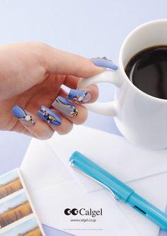 Calgel Nail Art !!!