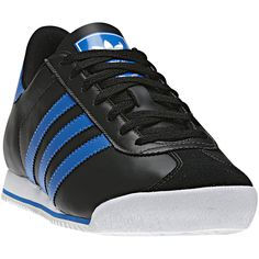 Heren Kick Shoes, Black / White / Bluebird