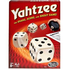 A family favorite for over 40 years. Throw the dice to build straights, full houses or five of a kind.a YAHTZEE! Comes with 1 Yahtzee score or more players. Best Family Board Games, Board Games For Kids, Family Games, Best Games, Kids Board, Yahtzee Game, Dice Games, Games To Play, Andy Gibb
