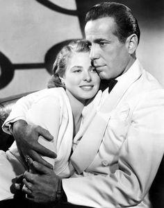 Ingrid Bergman & Humphrey Bogart 'Casablanca'