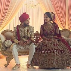 Our Stunning Bride Attiya Wowed The Audience On Her Wedding Day In This Artistically Crafted Outfit Embellished With Gold And Antique Embroidery Passionately Designed At HoorQasim We Wish You All The Best For The Future!!