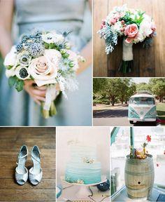 Tendenza Colore Matrimonio 2015 Acquamarina Allestimenti ed abito da sposa