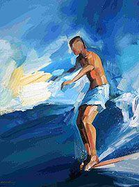 Vincenzo Ganadu   COTW Surf Artist